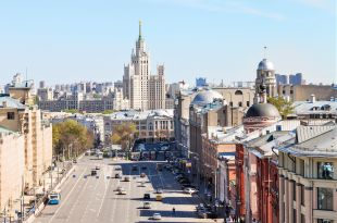 Moscou - Les grandes artères de la ville