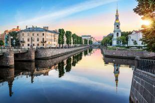 Canaux Saint-Pétersbourg