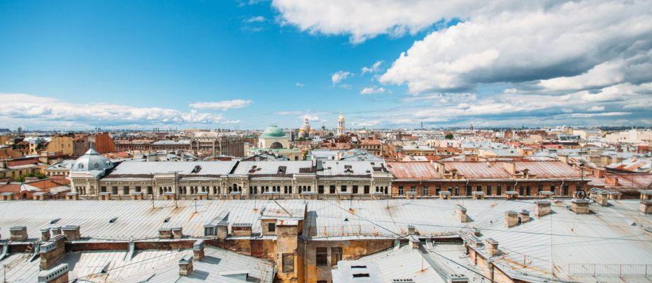Visite Saint-Pétersbourg - Vue sur les toits