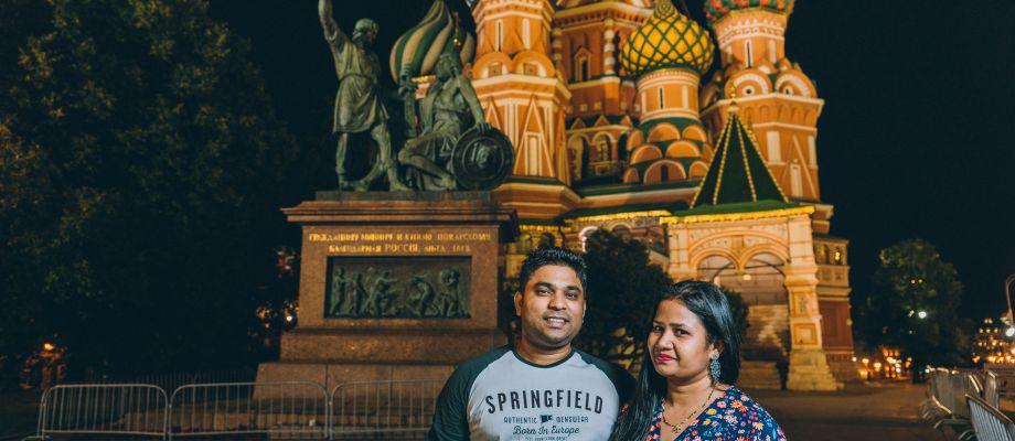 Moscou - Photoshoot dans le centre de Moscou