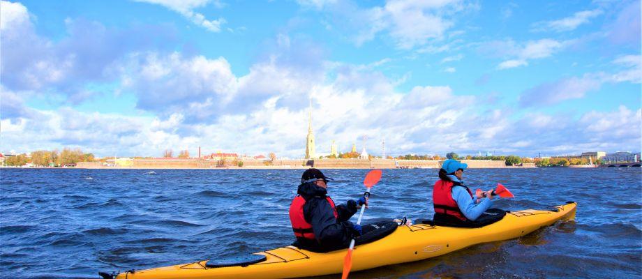 Tour en kayak - Saint Pétersbourg