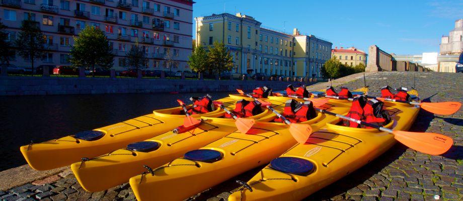 Votre kayak vous attend - Saint Pétersbourg