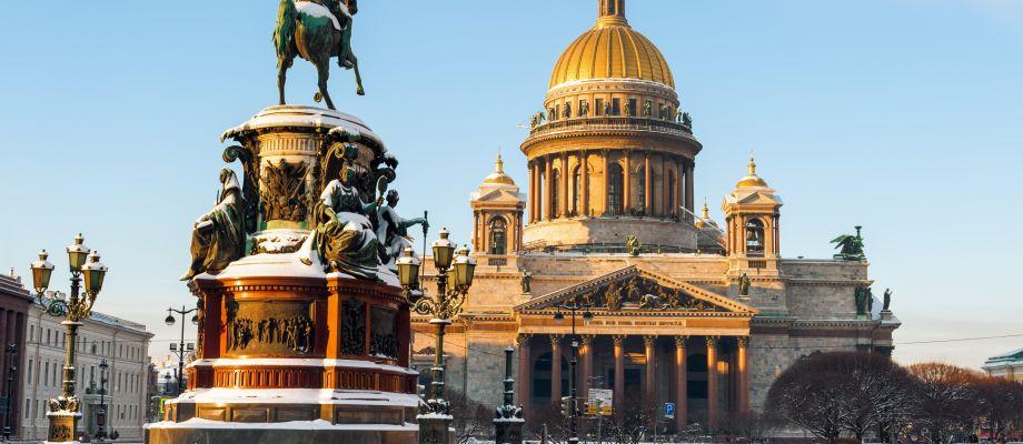 Saint-Pétersbourg - Cathédrale Saint Isaac