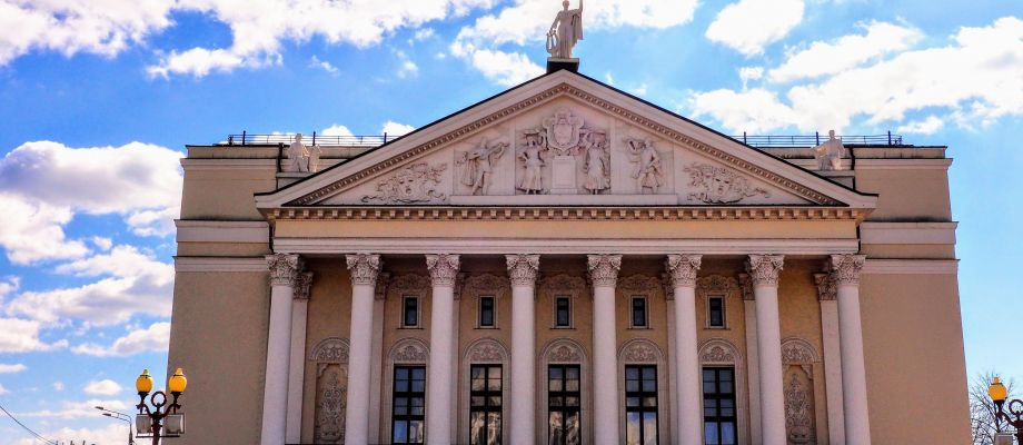 Kazan - Théâtre tatar d'opéra et de ballet Moussa Djalil