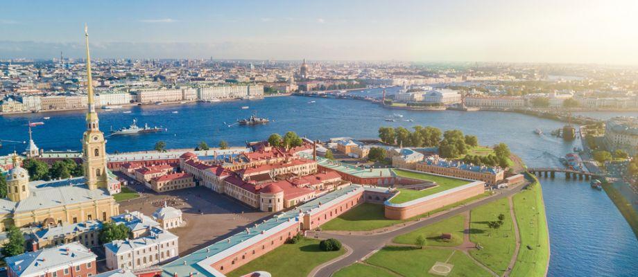 Forteresse Pierre et Paul à Saint-Pétersbourg