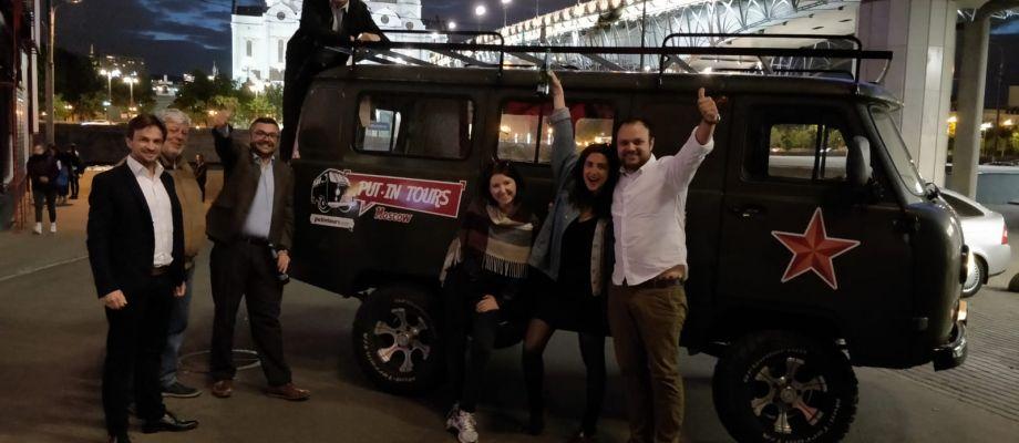 Tournée des bars Moscou - Visite Moscou de nuit