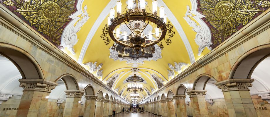 Moscou - Métro - Komsomolskaya