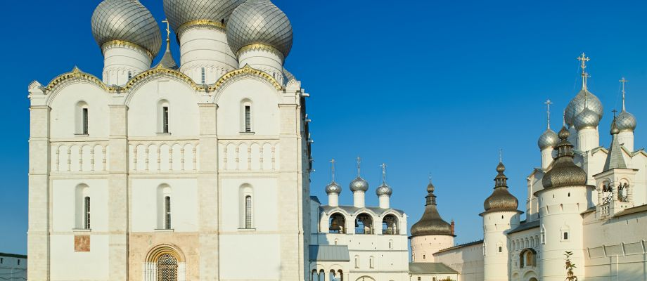 Voyage Rostov le Grand - Kremlin, Cathédrale de la Dormition