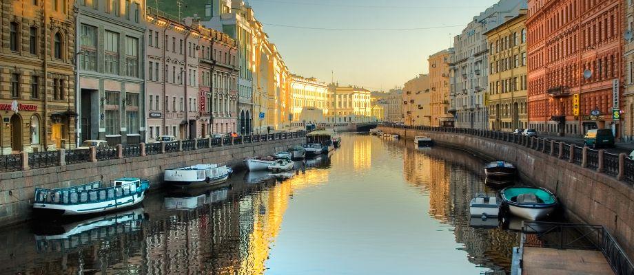 Voyage Saint-Pétersbourg - Canaux