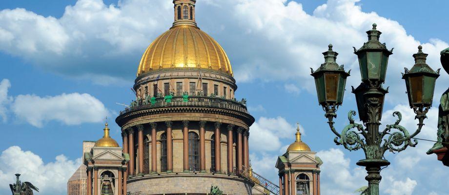 Saint-Pétersbourg - La cathédrale Saint-Isaac